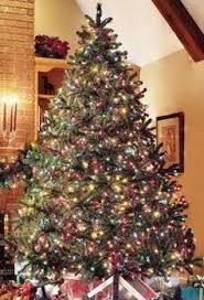 how to decorate a tree artificial douglas fir pre lit