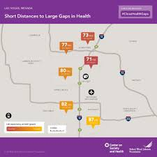 Las Vegas Zip Codes Map by Vcu Center On Society And Health Center Releases New Las Vegas