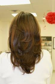 rounded layer haircuts i cut it to a medium length put short to medium layers throughout