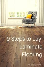 how to install laminate flooring on wood subfloor dengarden