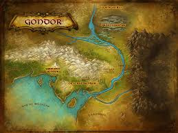 Map Of Mordor Gondor Lord Of The Rings Online Wiki Fandom Powered By Wikia