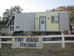 Tiny Mobile Homes For Sale by Metal Shell Tiny House On Wheels For Sale Tiny House Listings