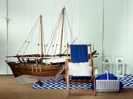 decoration white cushions applying nautical home decor print in