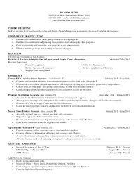 exle management resume supply chain manager resume objective jcmanagement co