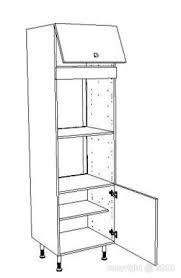 meuble cuisine 60 cm largeur meuble pour four et micro ondes encastrés largeur 60 cm hauteur