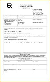 bid bond 7 construction bid template itinerary template sle