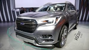 subaru concept truck subaru ascent concept 2017 new york auto show youtube