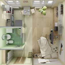 nice looking single room apartment design designs studio floor