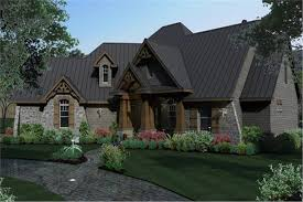 texas style craftsman house plan from wall stree journal 117 1103