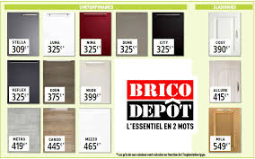 element cuisine brico depot awesome caisson meuble cuisine brico depot 4 les cuisines brico