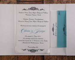 Wedding Invitations In Spanish Spanish Tiles Wedding Invitations