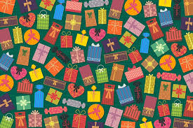 free illustration presents gifts background free image on