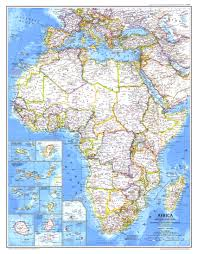 Geographic Map Of Africa by 1980 Africa Map Historical Maps