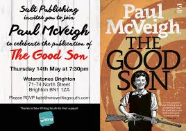 brighton launch waterstones may 14 at 7 30 the good son