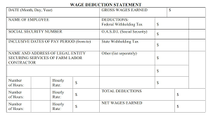 Payroll Statement Template by Fels Flc Payroll Reporting