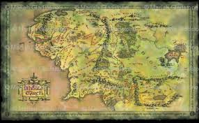 a map of middle earth alternate middle earth map fabric walkingraven1 spoonflower