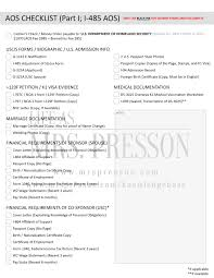 Employment Certification Letter Sample Visa how to prepare your aos package forms requirements and checklist