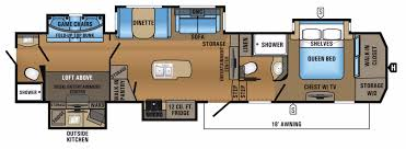 Arctic Fox Rv Floor Plans by New Or Used Fifth Wheel Campers For Sale Rvs Near Oklahoma City