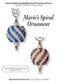 free trio mini spool ornament sova enterprises