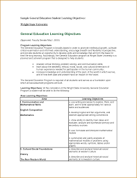 Example Of Resume Objective by Unthinkable General Resume Objective 13 Samples Sample Fresh
