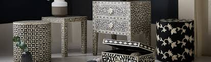 Bone Inlay Chair Bone Inlay Handcrafted Contemporary Furniture Collection