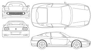 car ferrari drawing car ferrari 456 gt the photo thumbnail image of figure drawing
