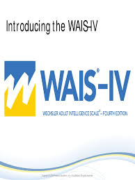 wais iv pearson presentation wechsler intelligence scale