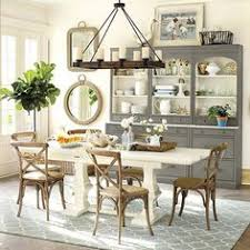 ballard designs dining table a big open and casual kitchen in a palette of soft grays visual