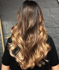 honey brown hair with blonde ombre blonde ombre hair to charge your look with radiance