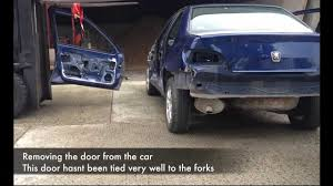 front door stripdown and removal peugeot 406 youtube