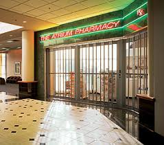 Overhead Security Door Security Grilles Overhead Door Company Of Dallas