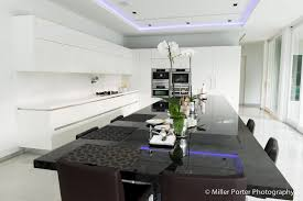 miami tuxedo kitchen and dining area features italian made