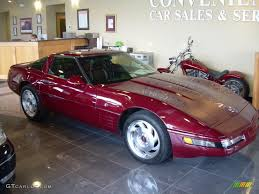 1993 corvette 40th anniversary 1993 ruby metallic chevrolet corvette 40th anniversary coupe