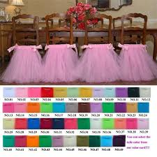 tutu chair covers 2017 2015 american style tutu chair skirts custom white pink