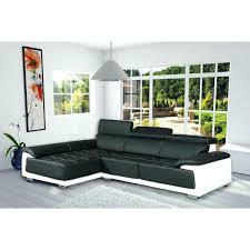 canapé d angle cuir blanc design canape d angle cuir noir et blanc aerotravel info