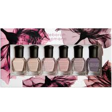 deborah lippmann bed of roses set 6 x 8ml 11399