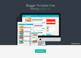 templates blogger material design free material design template for blogger mdfostrap