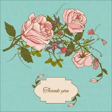 7 floral thank you cards free sle exle format free
