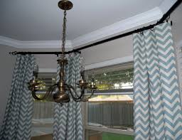 Chevron Style Curtains Awesome Chevron Blackout Curtains Mowebs Image Of Blue Print