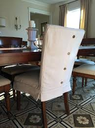 Slipcovered Parsons Dining Chairs Chair Covers For Kitchen Chairs Dining Chairs Slipcover Dining