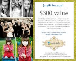 gift cards for wedding we offer gift certificates lutton photography s