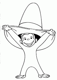 curious george coloring pages for kids coloring book pages