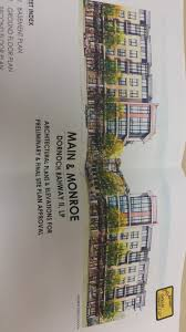 Rahway Plaza Apartments Floor Plans 208 Units Approved For Main U0026 Monroe Rahway Rising
