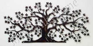 50 tree of large iron wall indoor or