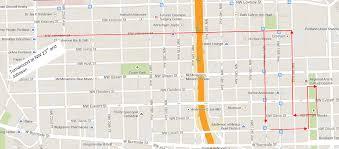 Washington Square Map by Blog Stumptown Birkebeiner