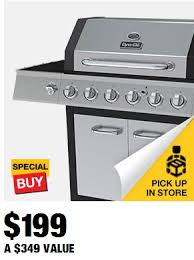 home depot black friday gas grill dyna glo 6 burner lp gas grill in black and stainless steel with