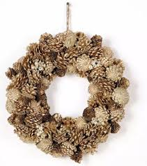 seasonal home decorations christmas holiday pine cone wreath seasonal home decor 15
