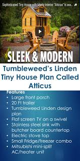 tumbleweed u0027s linden tiny house plan called atticus tiny house