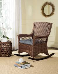 Upholstered Rocking Chairs Sea8036b Rocking Chairs Furniture By Safavieh