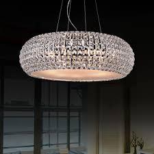 Modern Round Crystal Chandelier Design Round Crystal Chandelier For Dining Room Marku Home Design